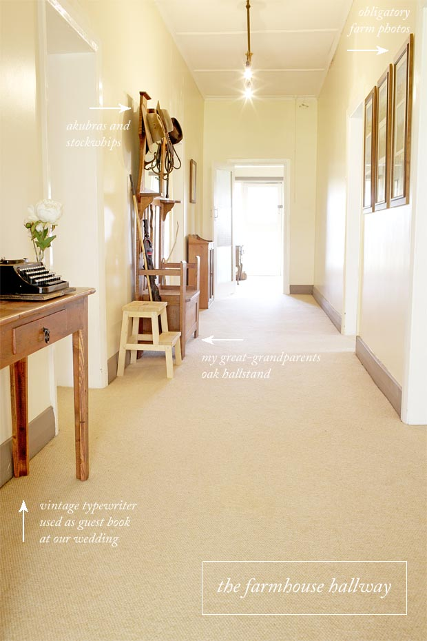 The Farmhouse Hallway