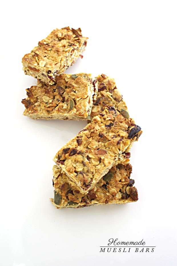 Homemade Muesli Bars 1