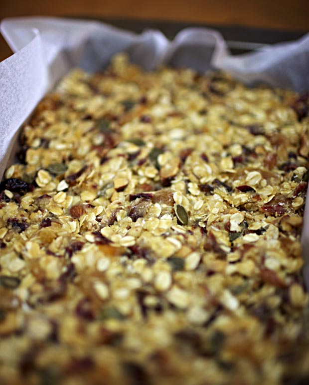 Homemade Muesli Bars 2