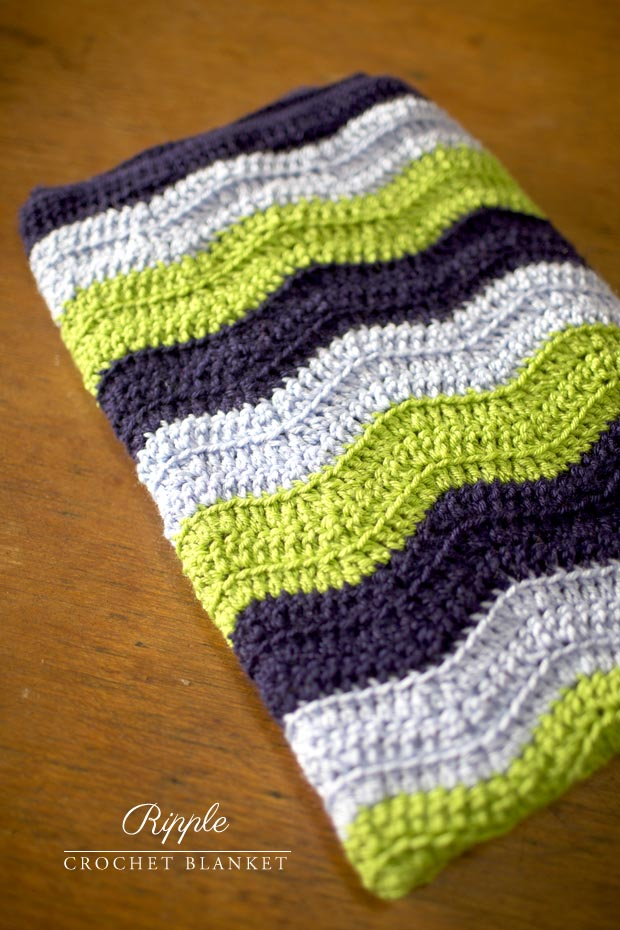 Crochet Ripple Blanket : Pics Photos - Ripple Blanket Crochet