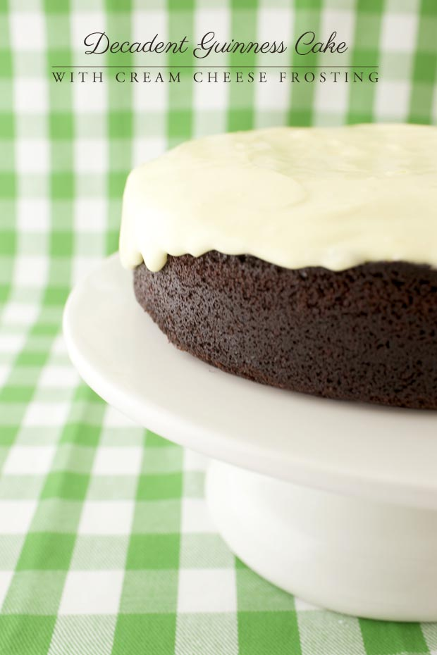 Decadent Guinness Cake | She Sows Seeds