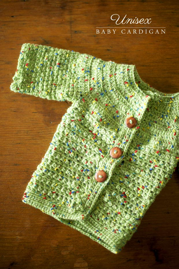 Unisex Baby Cardigan | She Sows Seeds