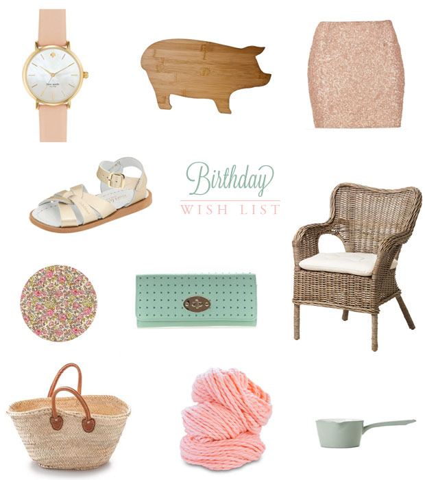Birthday Wish List | She Sows Seeds