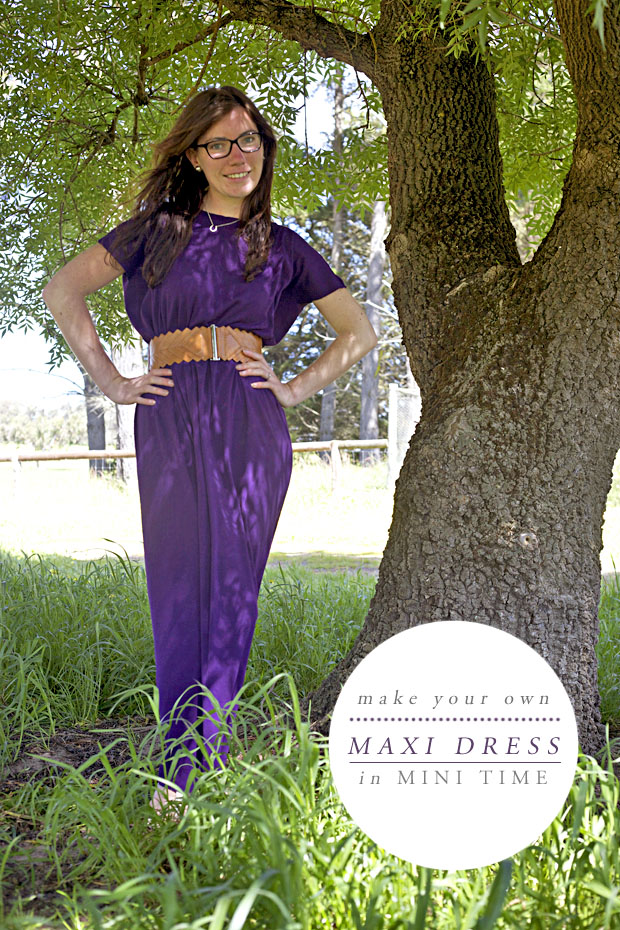 Maxi Dress Mini Time | She Sows Seeds