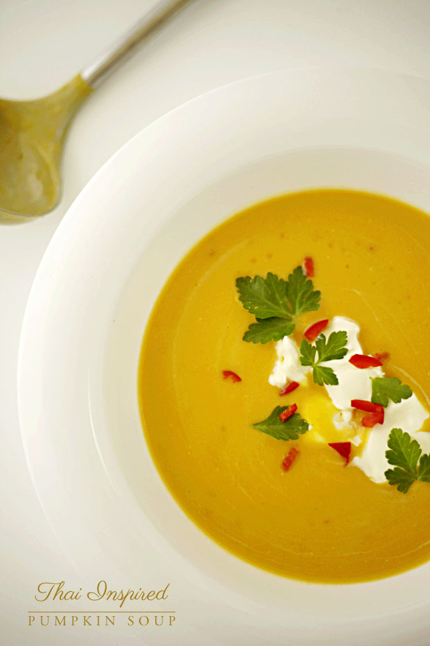 Thai Inspired Pumpkin Soup | She Sows Seeds