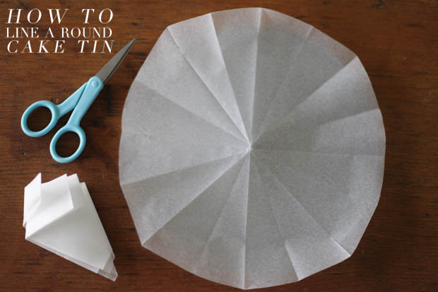 How To Line A Round Cake Tin | She Sows Seeds