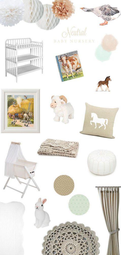 Neutral Baby Nursery | She Sows Seeds