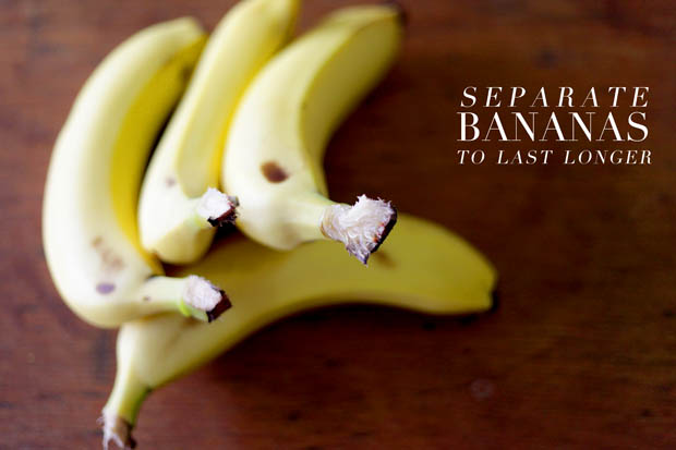 Separate Bananas To Last Longer | She Sows Seeds