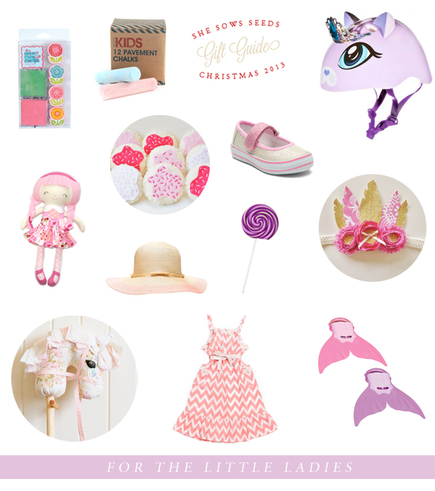 Gift Guide, for the little ladies | She Sows Seeds