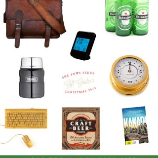 Gift Guide – for the man in your life…