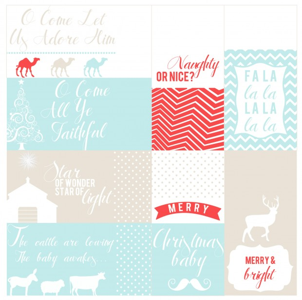 Christmas Gift Tags Download | She Sows Seeds