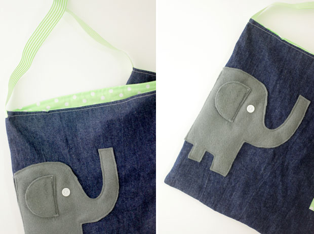 Elephant Library Bag | She Sows Seeds