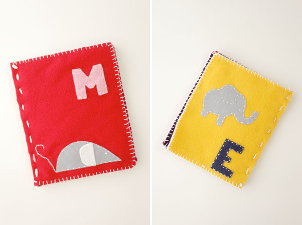 Felt Name Book | She Sows Seeds