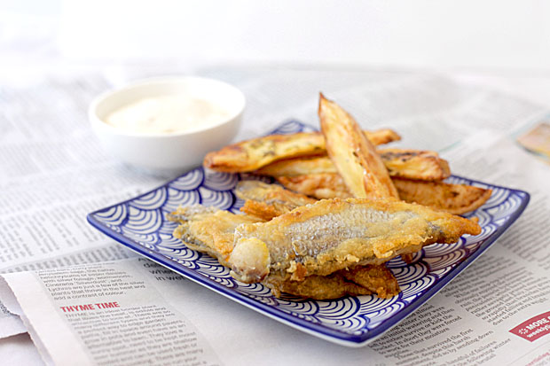 Best beer battered fish with chunky wedges for Best beer battered fish