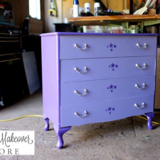 Minty Makeover for Queen Anne Drawers