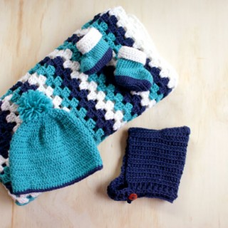 Navy and Teal for a Baby Boy