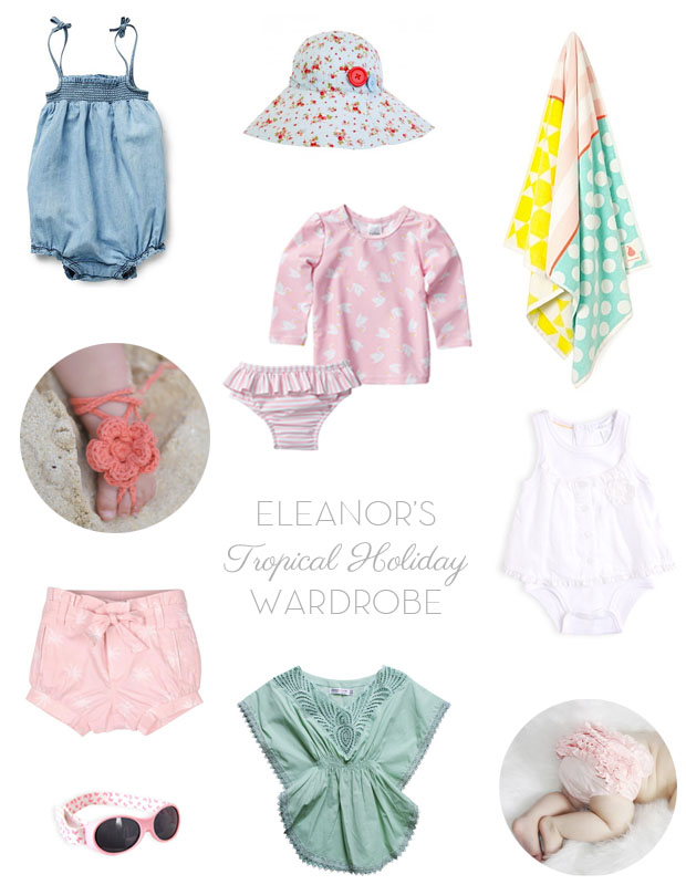 Eleanor's Tropical Holiday Wardrobe | She Sows Seeds