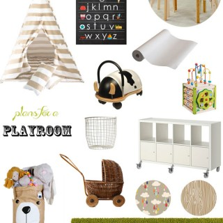 Plans for a Playroom