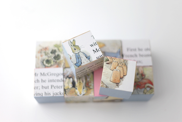 Peter Rabbit storybook blocks | She Sows Seeds 10