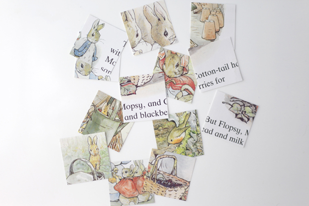 Peter Rabbit storybook blocks | She Sows Seeds 2