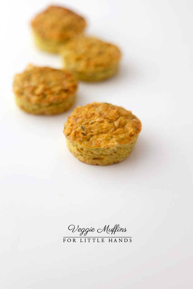 Veggie Muffins for Little Hands | She Sows Seeds