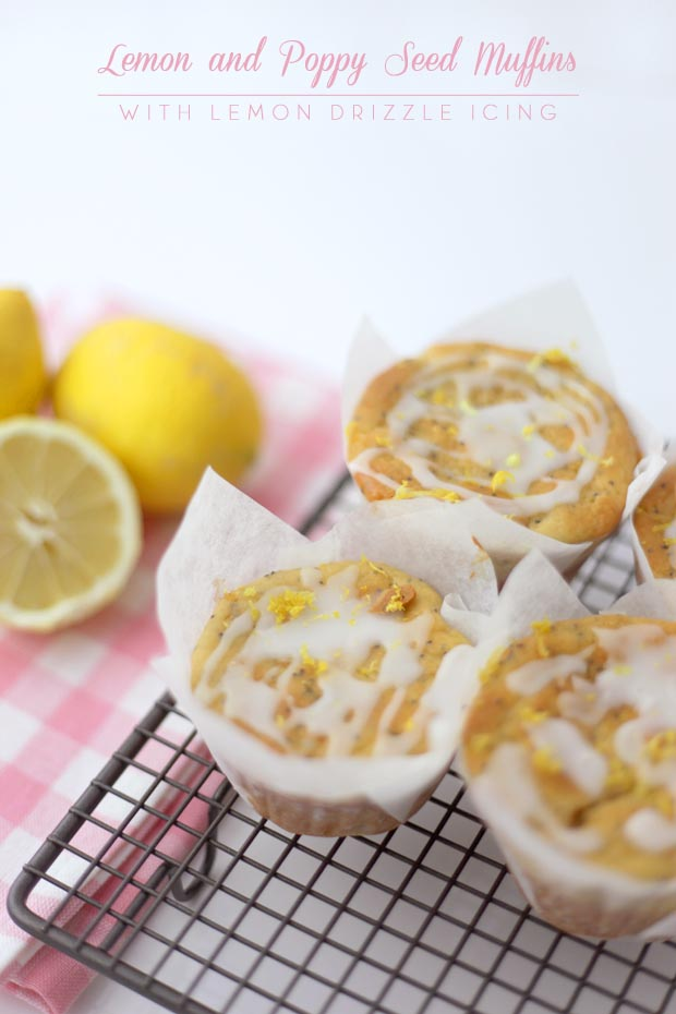 Lemon and Poppy Seed Muffins | She Sows Seeds 2