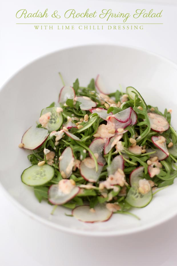 Rocket and Radish Spring Salad | She Sows Seeds 4