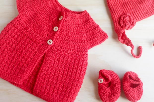 3 Crocheted Gifts for 3 Baby Girls | She Sows Seeds