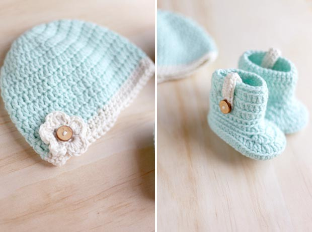 3 Crocheted Gifts for 3 Baby Girls | She Sows Seeds 7