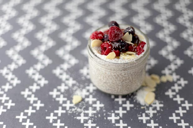 3 Ingredient Chia Pudding | She Sows Seeds 1