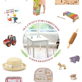 A Toddler Christmas Gift Guide