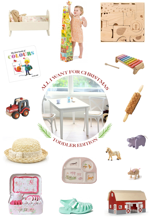 A Toddler Christmas Gift Guide | She Sows Seeds