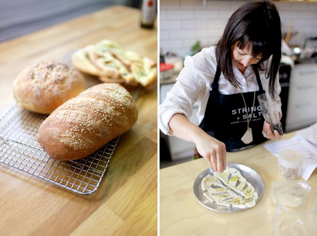 Bread Baking at String + Salt | She Sows Seeds 4