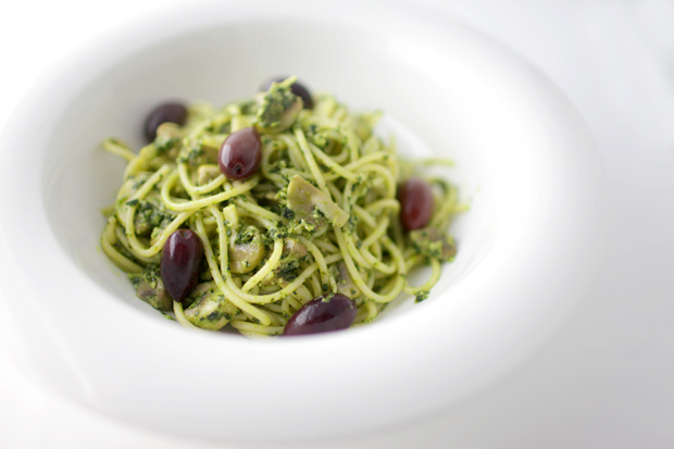 Kale and Cashew Pesto Pasta | She Sows Seeds 4
