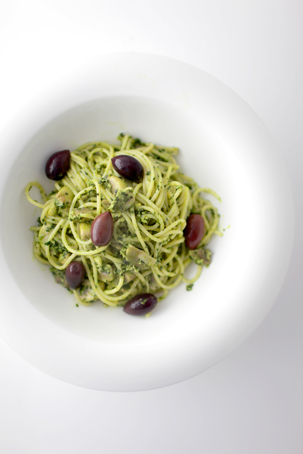 Kale and Cashew Pesto Pasta | She Sows Seeds 5