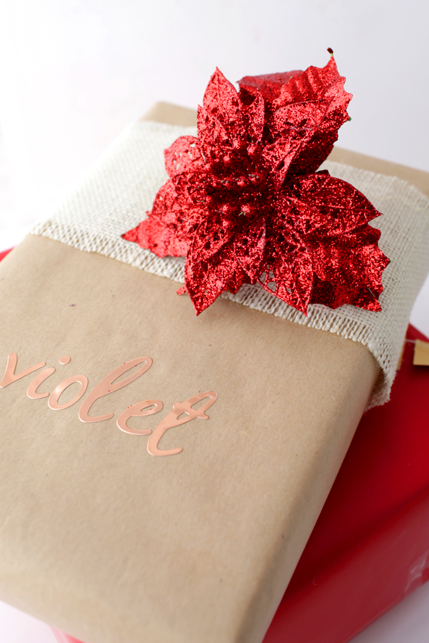 Simple Christmas Gift Wrapping | She Sows Seeds 3
