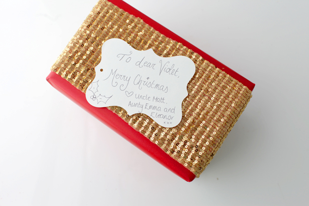 Simple Christmas Gift Wrapping   She Sows Seeds 6