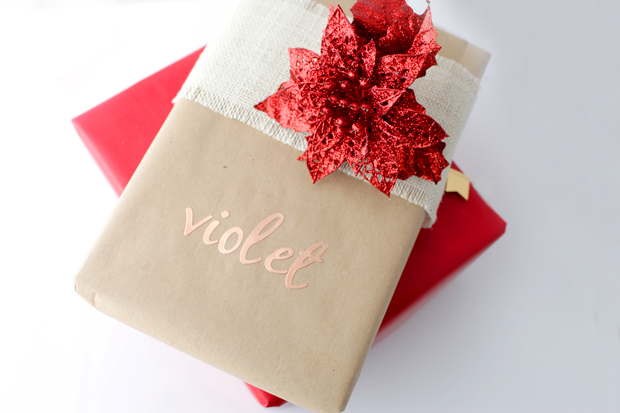 Simple Christmas Gift Wrapping | She Sows Seeds