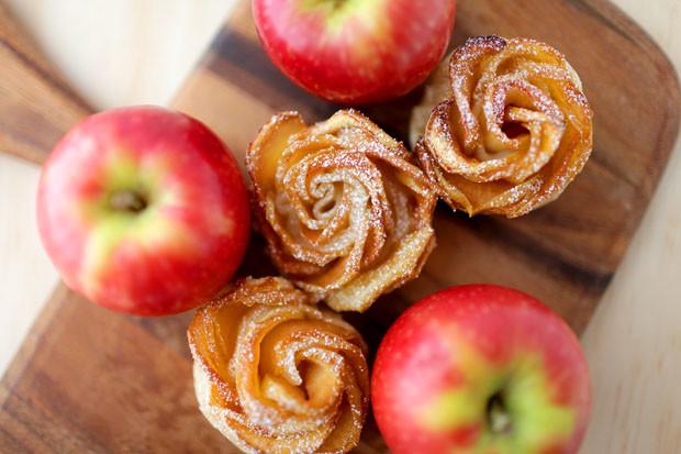 Caramel Apple Roses | She Sows Seeds