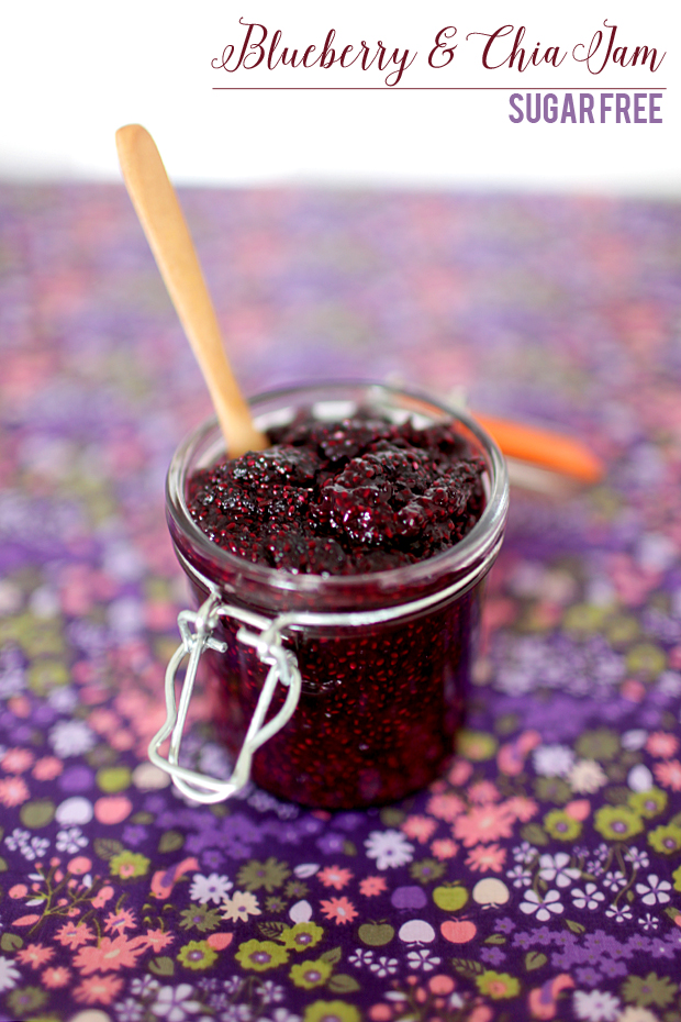 Sugar Free Blueberry and Chia Jam | She Sows Seeds 3