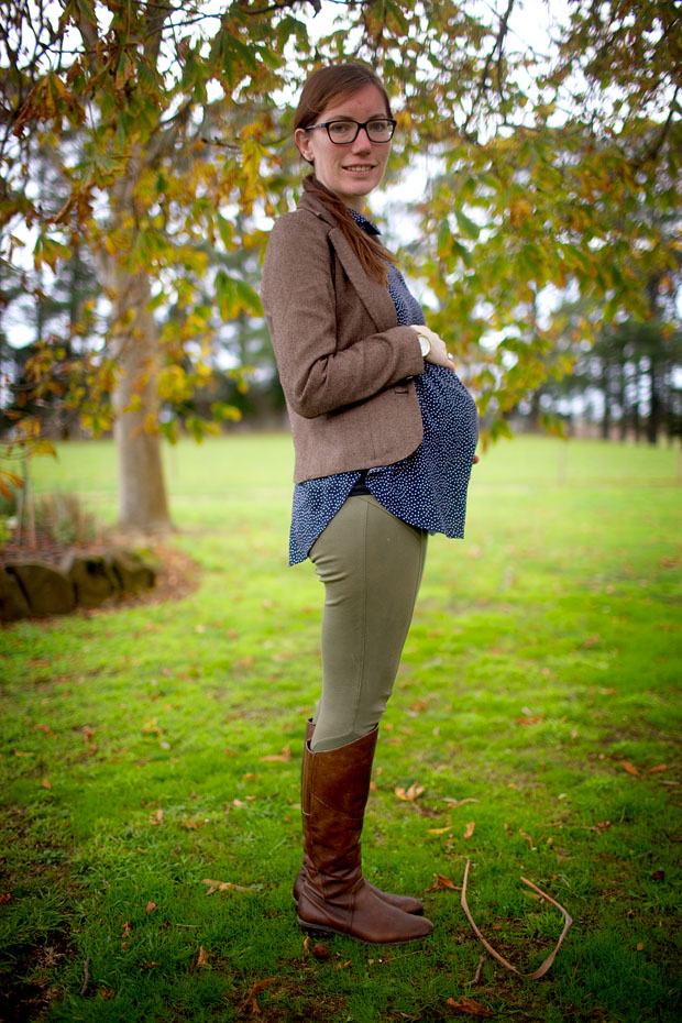 What To Wear During A Winter Pregnancy | She Sows Seeds 2