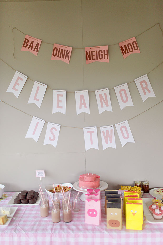 Eleanor's Farmyard Second Birthday | She Sows Seeds 10