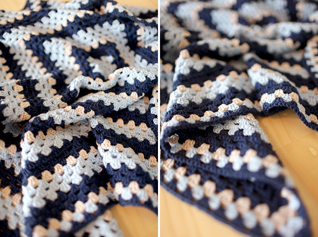 Crocheted Baby Blankets, A Girl Version, A Boy Version | She Sows Seeds 10