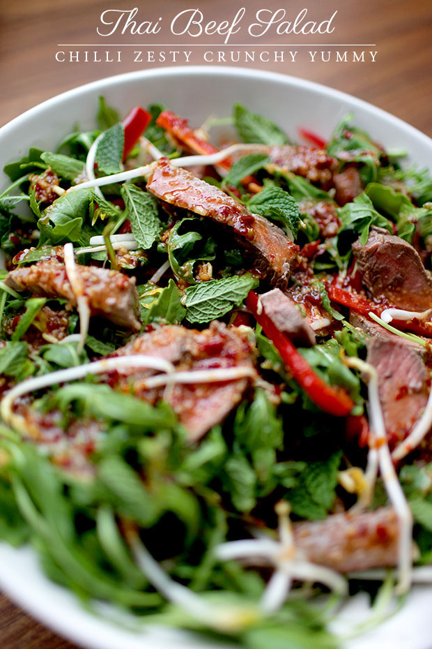 Thai Beef Salad | She Sows Seeds 1