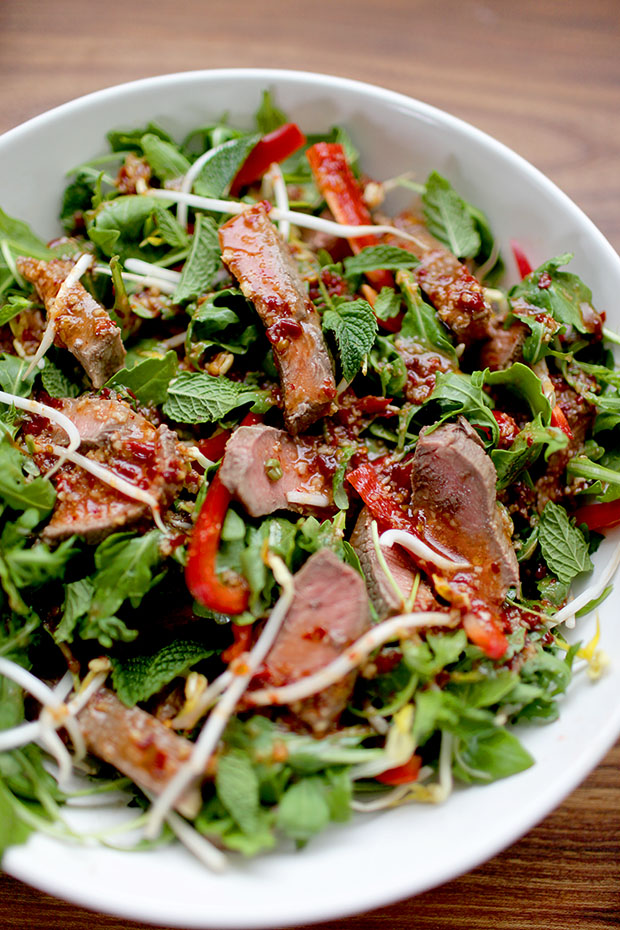 Thai Beef Salad | She Sows Seeds 2