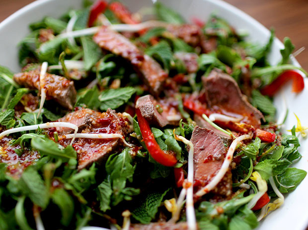 Thai Beef Salad | She Sows Seeds 3