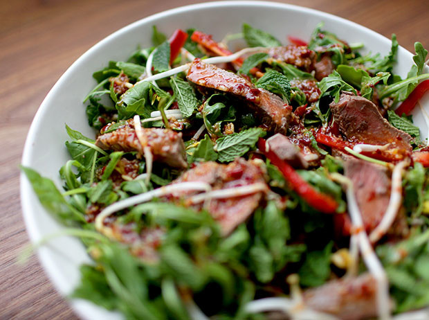 Thai Beef Salad | She Sows Seeds