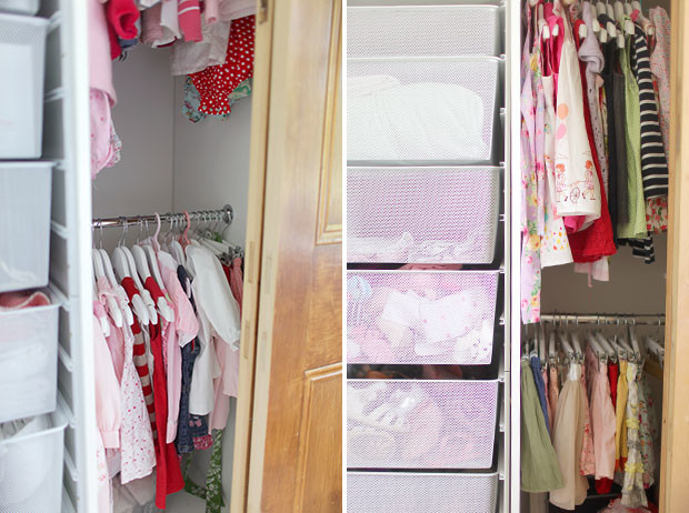 Kids Clothes Storage | She Sows Seeds 8