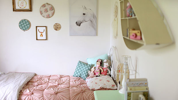 Eleanor's Big Girl Bedroom | She Sows Seeds 1