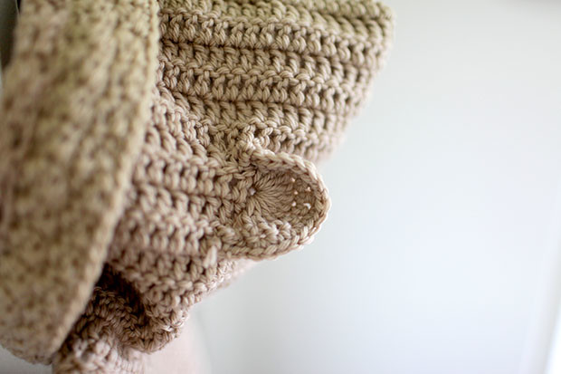 Hooded Bear Corcheted Cardigan | She Sows Seeds 6